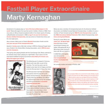 Marty Kernaghan - Multi talented athlete