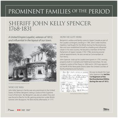 Sheriff John Kelly Spencer - Prominent Families