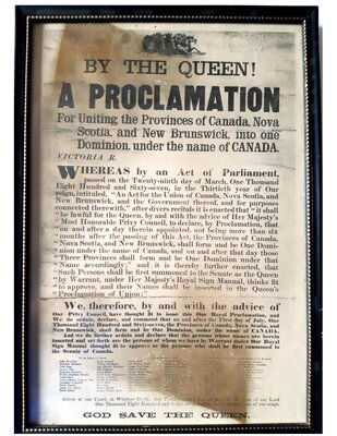Proclamation, March 29 1867