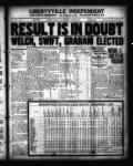 Results in doubt; Welch, Swift, Graham elected.