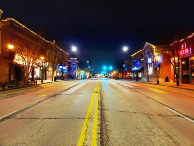 Downtown Libertyville Looking South