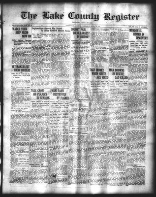 Lake County Register (1922), 27 Aug 1924