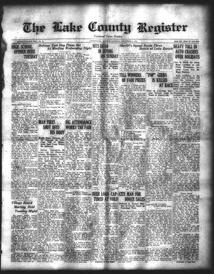 Lake County Register (1922), 6 Sep 1924