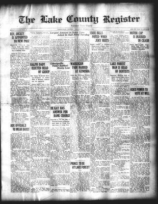 Lake County Register (1922), 11 Oct 1924