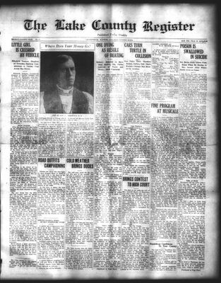 Lake County Register (1922), 25 Oct 1924