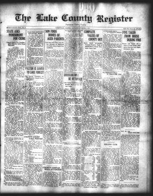 Lake County Register (1922), 1 Nov 1924