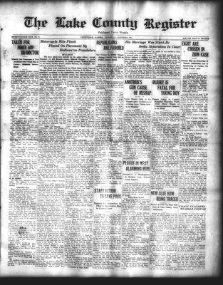 Lake County Register (1922), 5 Nov 1924