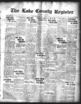 Lake County Register (1922), 15 Nov 1924