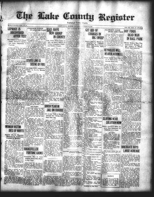 Lake County Register (1922), 22 Nov 1924