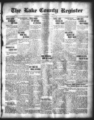 Lake County Register (1922), 26 Nov 1924