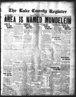 Lake County Register (1922), 13 Dec 1924