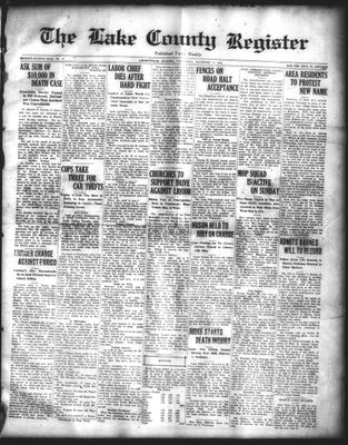 Lake County Register (1922), 17 Dec 1924