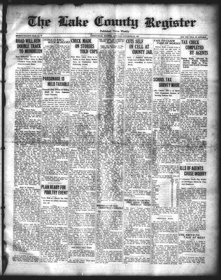 Lake County Register (1922), 20 Dec 1924