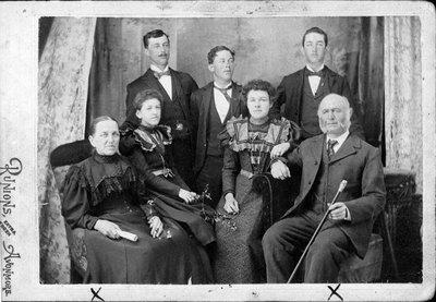 Famille Jean-Baptiste  Grégoire de St-Albert