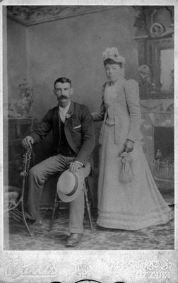 Henry Tearry and wife (She's a Ryan)