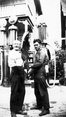Osias Sabourin et Onésime Leroux