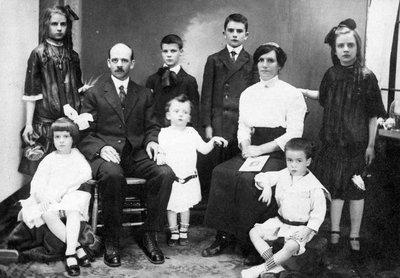 Famille Albert Régimbald ou Albert Villeneuve