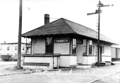 La gare d'Embrun