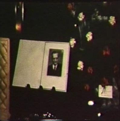 Film sur la procession funéraire de Joseph Brunet