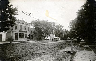 La rue principale de Rockland