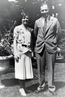Harold Hunter Dent et son épouse Wilma Margaret Murray