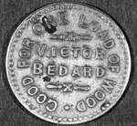 Pièce de monnaie servant à l'échange de marchandise.