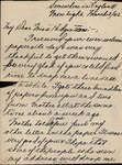 "Letter from Allan ""Casey"" Myles Jr. to Eliza J. Padginton"