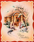 Christmas card from L.A.C.Mrs. Geo Maskell to Eliza J. Padginton