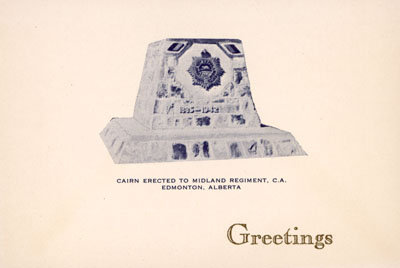 Christmas card from James A. MacGregor to Eliza J. Padginton