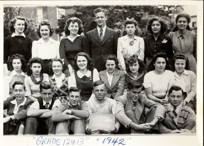 Colborne High School, 1942, Grade 12 & 13