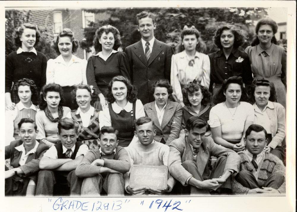 Colborne High School, 1942, Grade 12 & 13