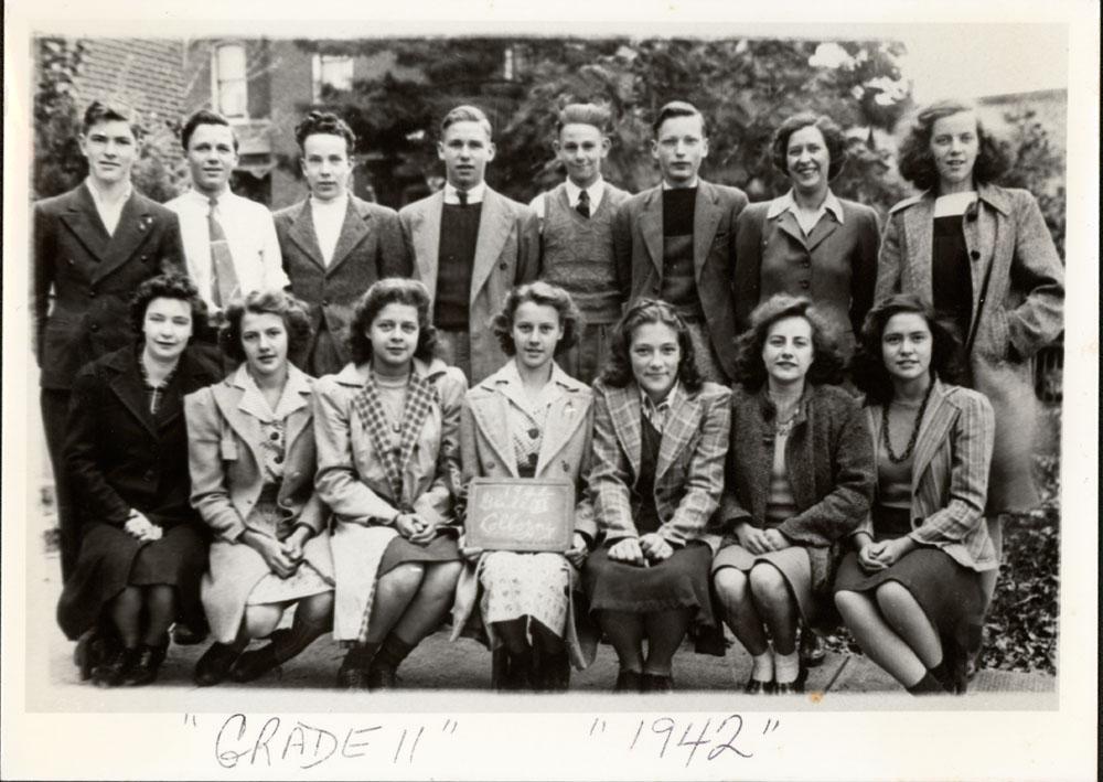 Colborne High School, 1942, Grade 11