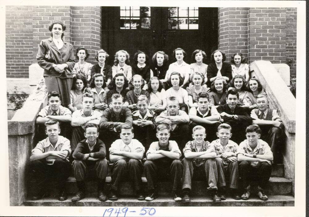 Colborne High School Class Photo, 1949-50