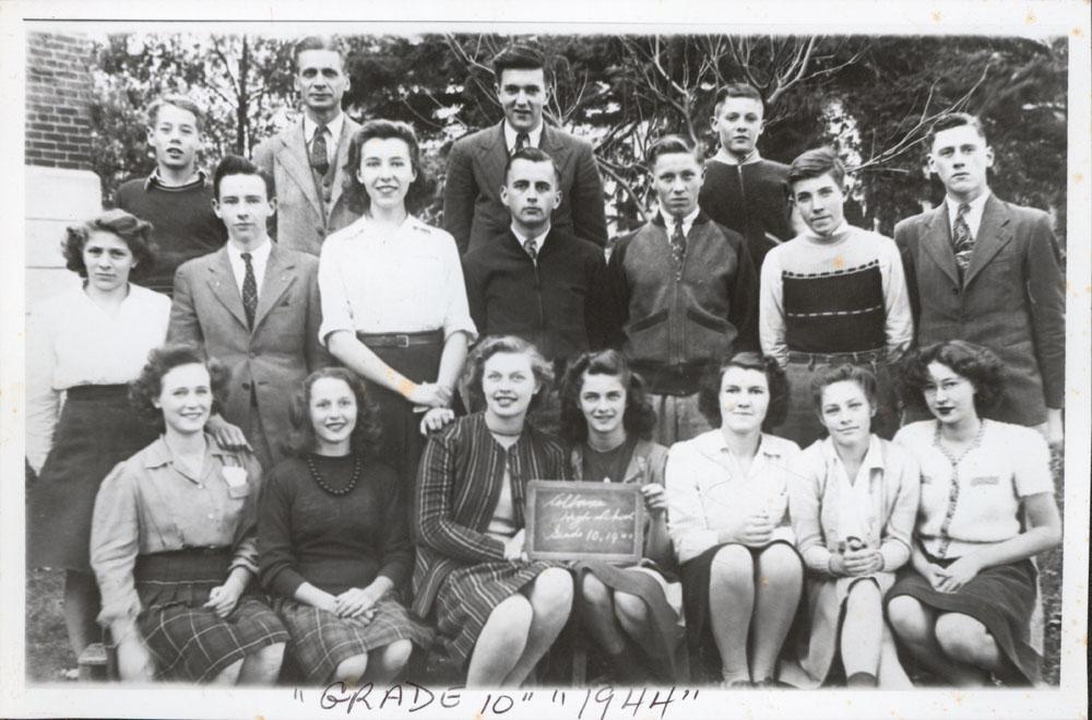 Colborne High School, 1944, Grade 10