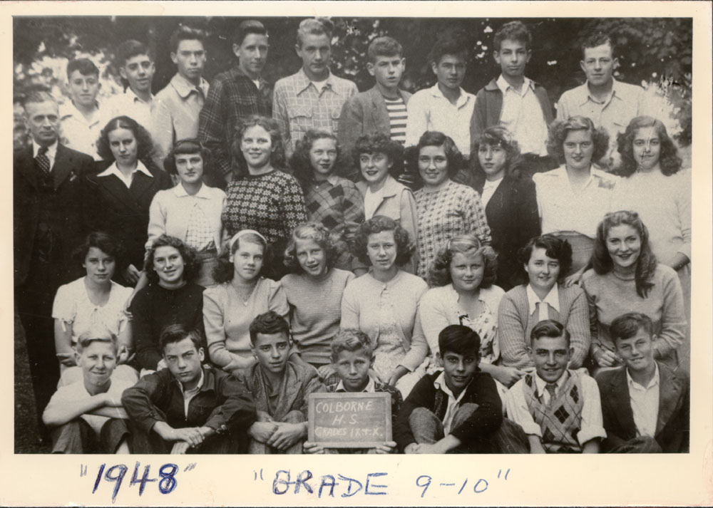Colborne High School, 1948, Grades 9 & 10