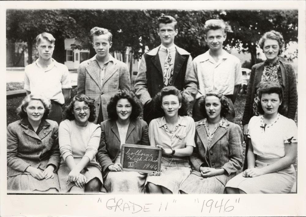 Colborne High School, 1946, Grade 11