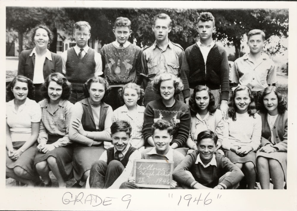 Colborne High School, 1946, Grade 9