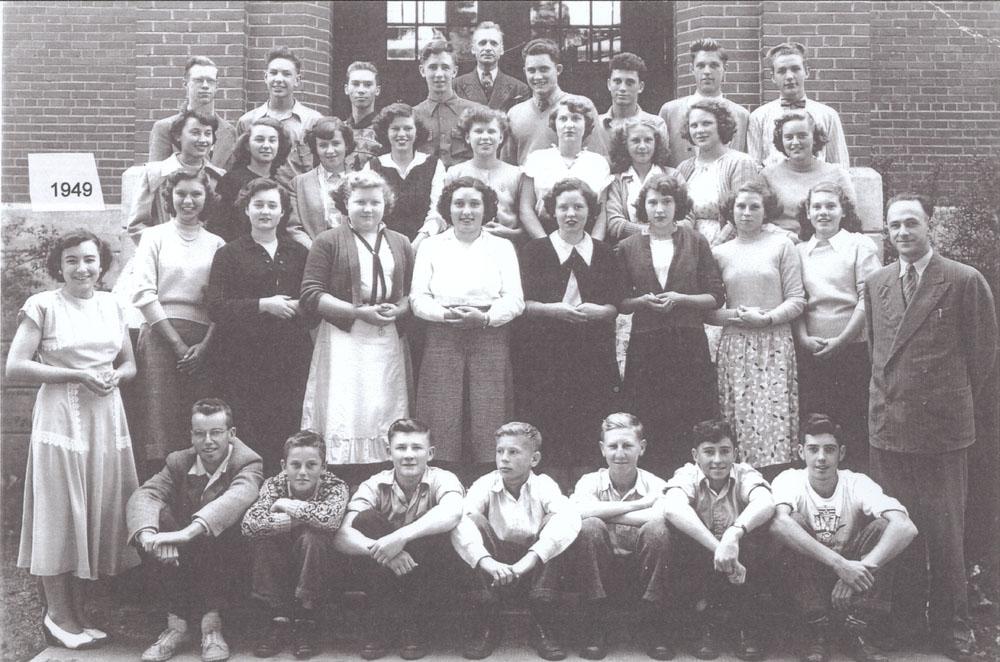 Colborne High School, 1949
