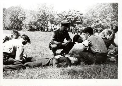 World War II Cadets training