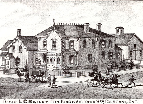 L.C. Bailey Residence, Illustrated Historical Atlas
