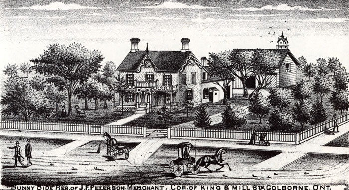 J.F. Peterson Residence, Illustrated Historical Atlas