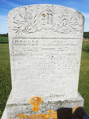 Tombstone - George I. Merriman