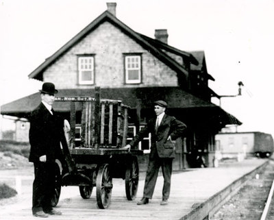 Canadian Northern Railway Station, Colborne