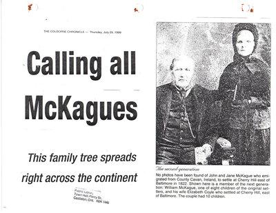 The McKague Family