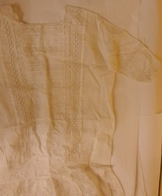 Yvonne Rice's dress