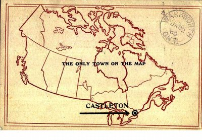 Postcard of The Only Town on the Map - Castleton