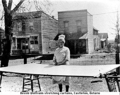 Photograph of Bessie Wolfraim, Castleton, Cramahe Township