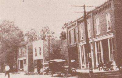 Photograph of Naish Block, Spring and Percy Streets, Castleton, Cramahe Township
