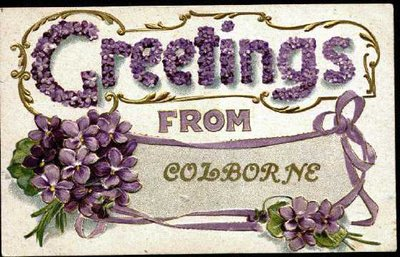 Postcard of Greetings from Colborne