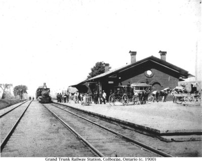Grand Trunk Railway Station, Colborne